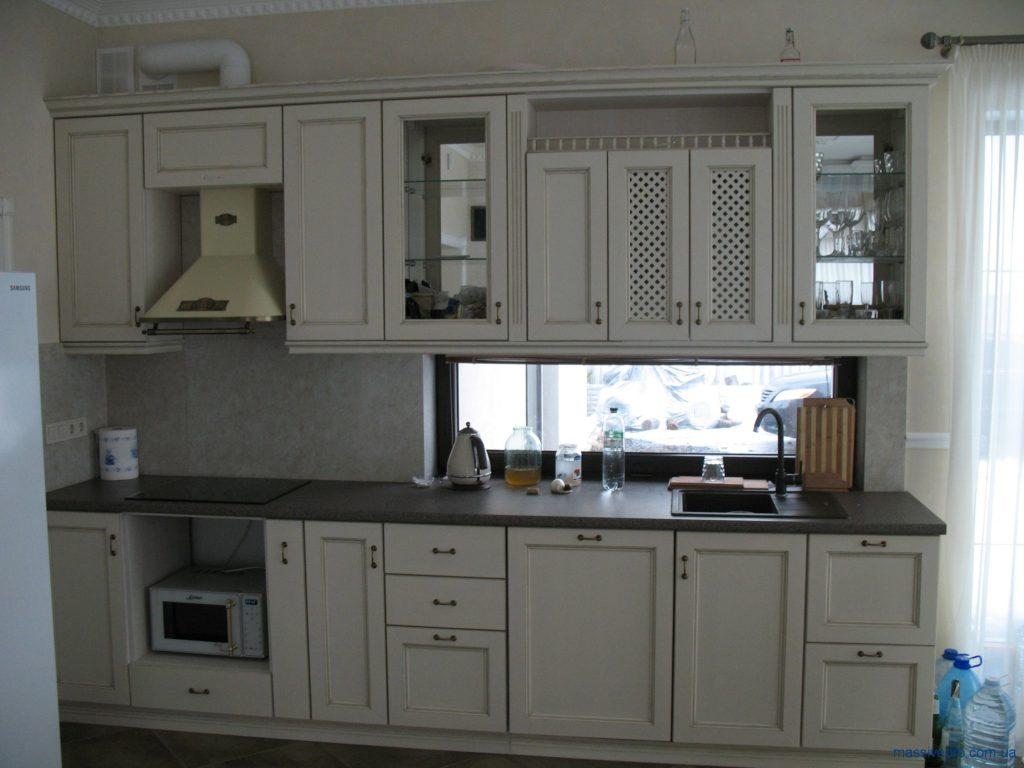 Фасады деревянные для кухни от MassivePro