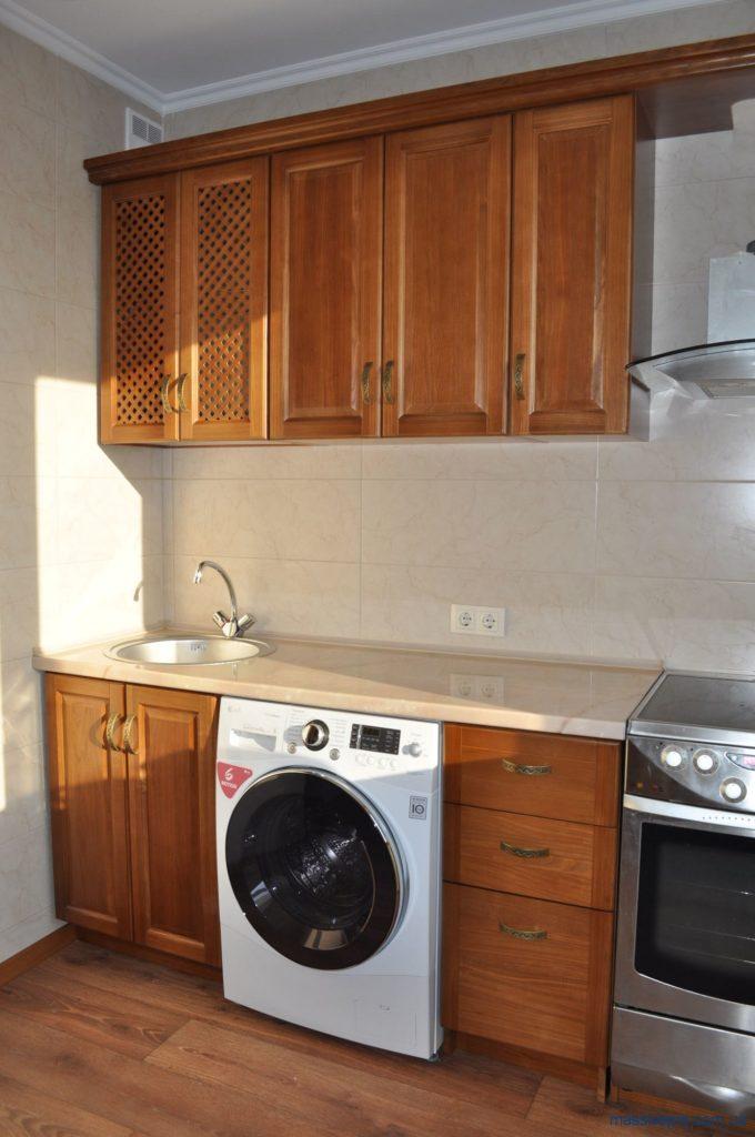 Деревянные фасады на кухню от MassivePro