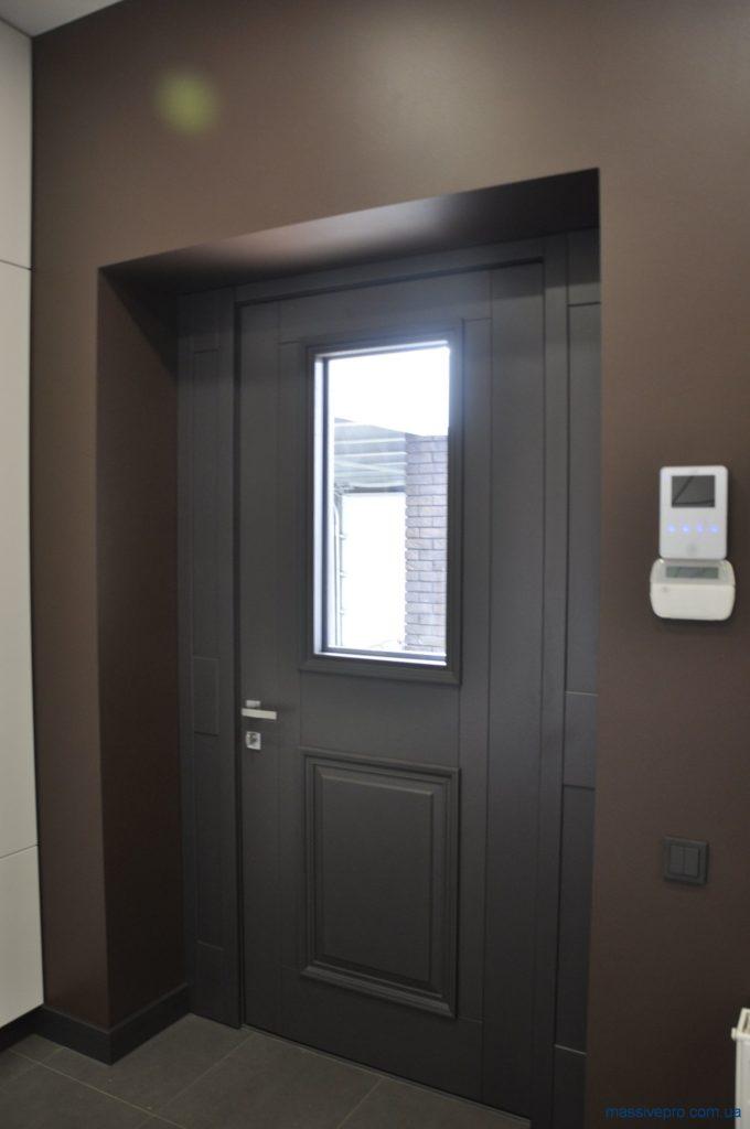 Входные двери со стеклом от MassivePro