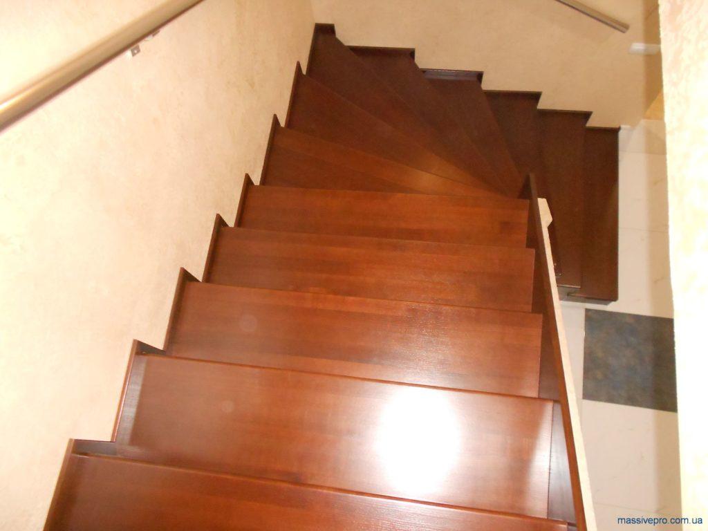Лестница для коттеджа от MassivePro