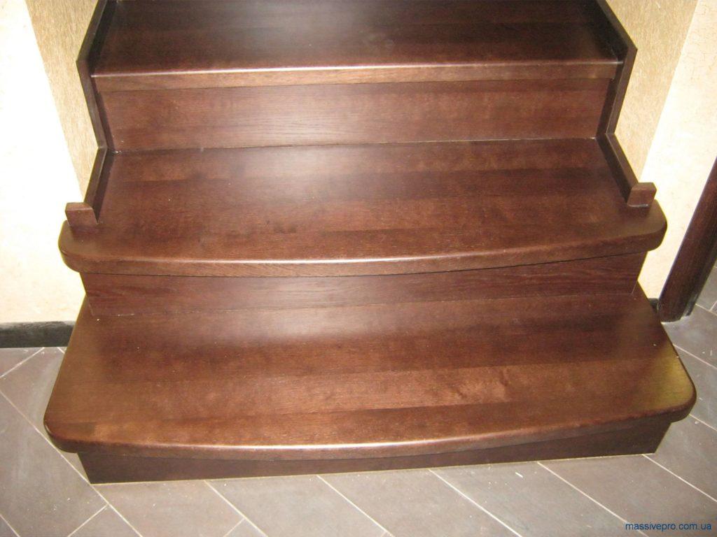Деревянные ступени для лестниц от MassivePro