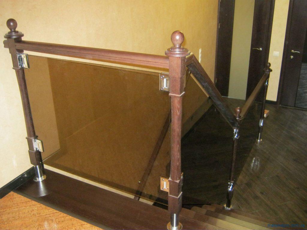 Купить перила для лестницы Харьков от MassivePro