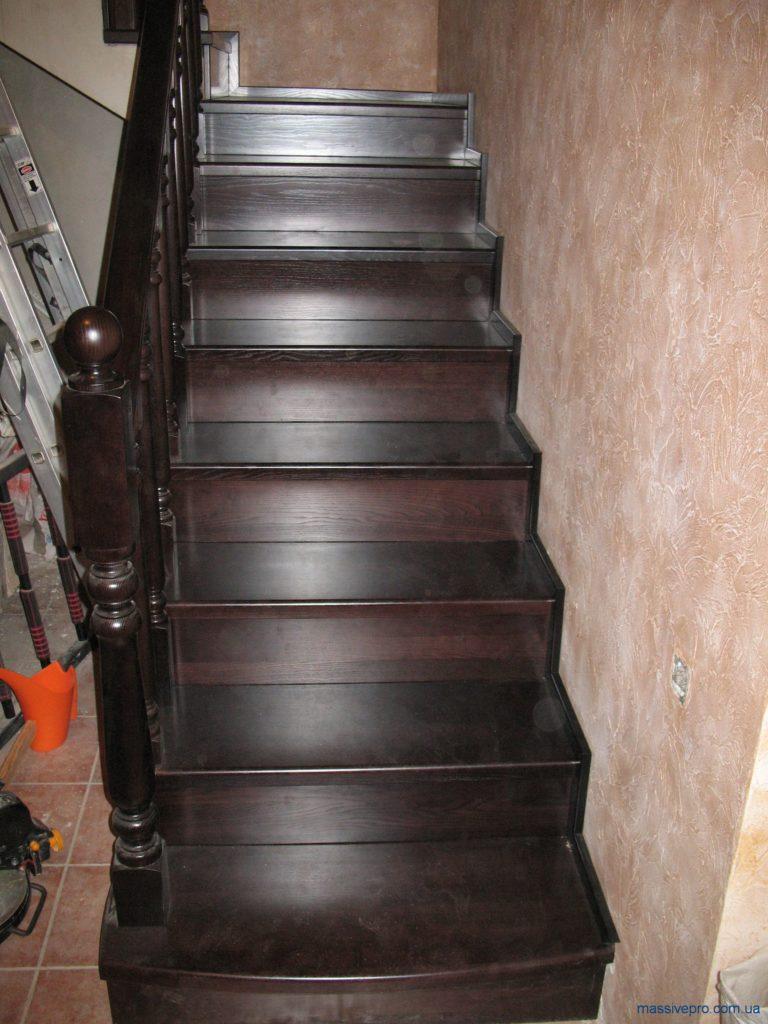 Лестница из ясеня от MassivePro