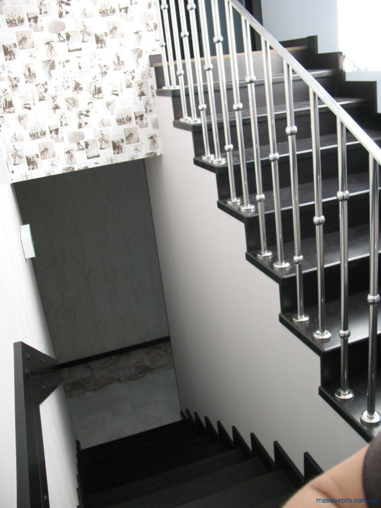 Изготовление лестницы на второй этаж от MassivePro