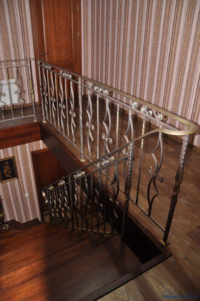 Кованые перила для лестниц от MassivePro